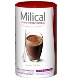 Milical Hyper Protéine Milk Shake Chocolat 18 Repas