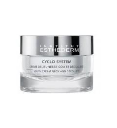 ESTHEDERM Cyclo System Crème de Jeunesse Cou et Décolleté Pot