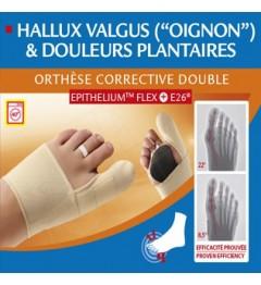 Epitact orthèses correction double hallux valgus gauche M