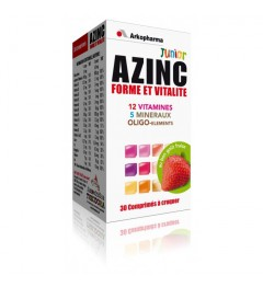 Azinc Optimal Junior Fraise 30 Comprimés à Croquer