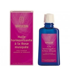 Weleda Huile Harmonisante à la Rose Musquée 100 ml
