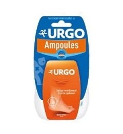 Urgo Traitement Ampoules Talon Seconde Peau 5 pansements