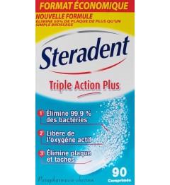 Stéradent Nettoyant Triple Action Plus 90 Comprimés