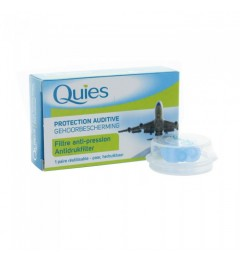 Quies Ear Planes Protections Auditives Adultes 1 paire