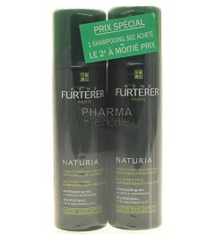 Furterer Naturia Shampooing Sec Tous Type de Cheveux 150ml Lot