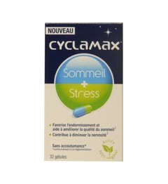 Cyclamax Sommeil+Stress 32 Capsules pas cher