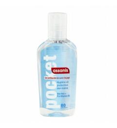 Assanis Pocket Gel Antibactérien sans Rinçage 80ml