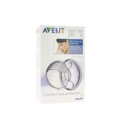 Avent Coquille Allaitement Confort Silicone 2 unités