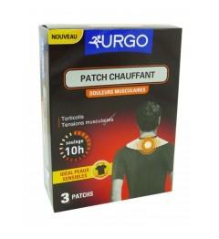 Urgo Patch Chauffant Nuque Vêtement x3