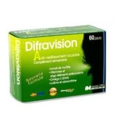 Difravision Complément à Visée Oculaire 60 Gélules