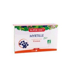 Superdiet Solution Buvable Myrtille 20 Ampoules