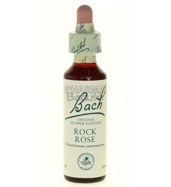 Fleurs de Bach Rock Rose 20 ml pas cher