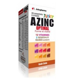 Azinc Optimal Junior Cola 30 Comprimés à Croquer