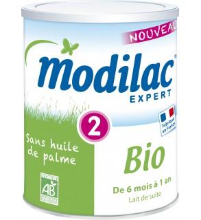 Modilac Bio 2ème Age 800 Grammes