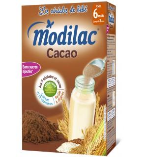 Modilac Céréales Cacao 300 Grammes
