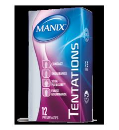 Manix Préservatif Tentations Boite de 14