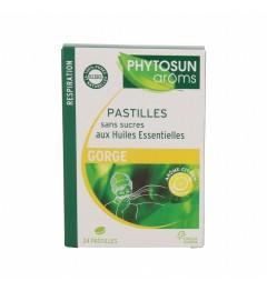 Phytosun Aroms Pastilles Sans Sucre Citron Boite de 24