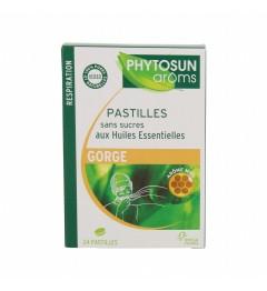 Phytosun Aroms Pastilles Sans Sucre Miel Boite de 24