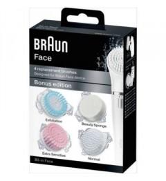 Braun Multipack Brosse Visage, Braun Multipack Brosse Visage