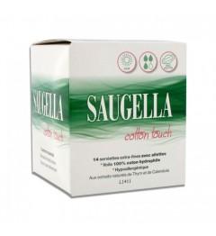 Saugella Coton Touch Serviettes Jour Boite de 14