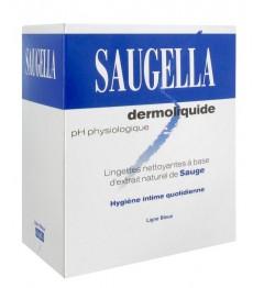 Saugella Dermoliquide Lingettes Hygiène Intime Paquet de 10