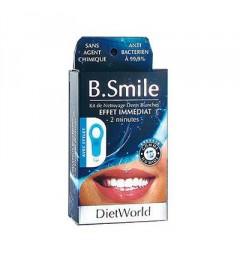 Dietworld B.Smile Kit de Nettoyage Dents Blanches pas cher