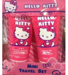 Hello Kitty Gel Douche 75Ml et Shampooing Après Shampooing 2 en 1