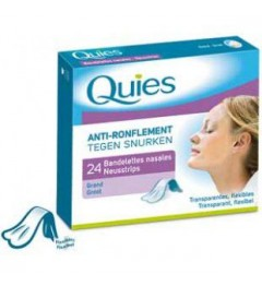 Quies Anti-Ronflement Dilatateur Nasal Grande Taille