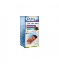 Quies Anti-Ronflement Spray Nasal Pin Eucalyptus 15Ml