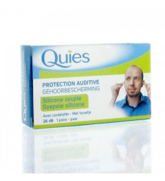 Quies Protection Auditive Silicone Cordelette