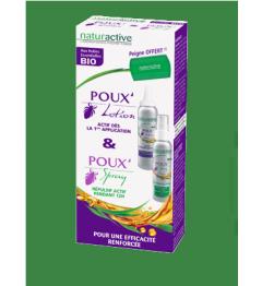 Naturactive Poux Pack Lotion, Spray et Peigne