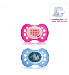 Dodie Sucette Anatomique Silicone +6 Mois A17
