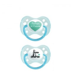 Dodie Sucette Anatomique Silicone 0-6 Mois Duo A31