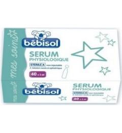 Bebisol Solution Nasale Sérum Physiologique 40 Doses de 5Ml